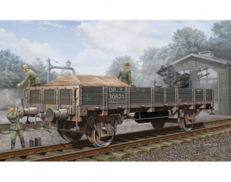 Сборная модель Немецкая железнодорожная платформа