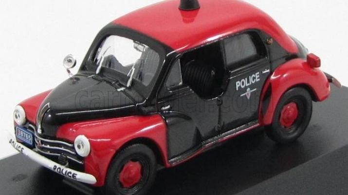 RENAULT 4 CV Police monegasque R 1062 (1956), red / black
