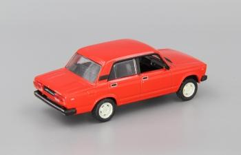 Волжский автомобиль 2105 Жигули, Автолегенды СССР 62, красный