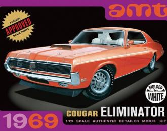 Сборная модель 1969 Cougar Eliminator (белый кузов)
