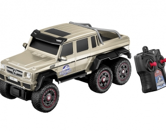 MERCEDES-BENZ G 63 AMG 6x6 Jurassic World с радиоуправлением, bronze