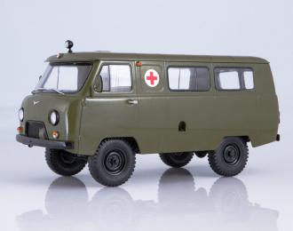 УАЗ-452А санитарный, хаки