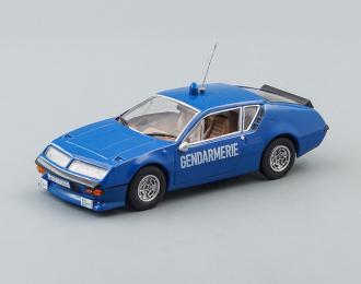 (Конверсия!) RENAULT Alpine A310, Полицейские Машины Мира 11, синий