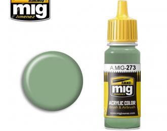 Краска акриловая Зелёный антикоррозийный / Verde Anticorrosione