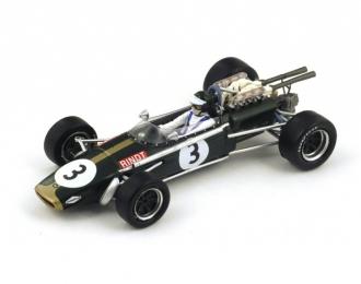 Brabham BT24 #3 3rd South African GP 1968 Jochen Rindt