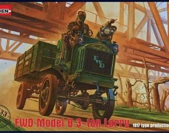 Сборная модель Американский армейский грузовой автомобиль FWD Model B 3-ton Lorry (Британская армия)