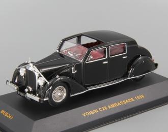 VOISIN C28 Ambassade (1936), black