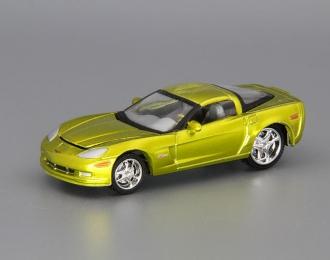 CHEVROLET Corvette Z06 (2007), green metallic