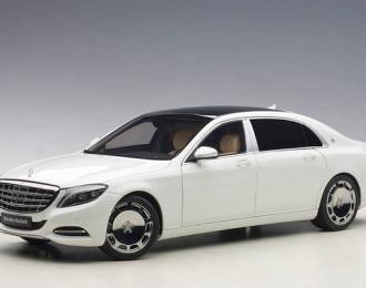 Mercedes-Benz Maybach S-Klasse S600 (SWB) 2015 (white)