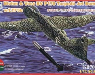 Сборная модель Blohm & Voss BV P178 Torpedo Jet Bomberw/LTF5b