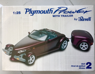 Сборная модель Plymouth Prowler with Trailer