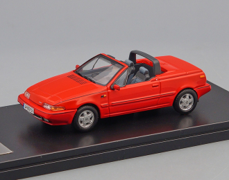 VOLVO 480 Turbo Cabriolet (1990), red