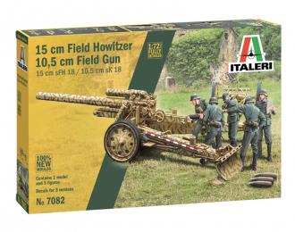 Сборная модель Пушка 15 cm Field Howitzer / 10,5 cm Field Gun