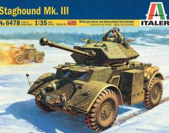 Сборная модель Panzerspähwagen Staghound Mk.III