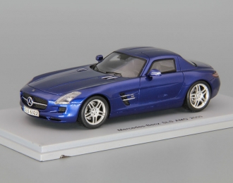 MERCEDES-BENZ SLS AMG 2009, blue