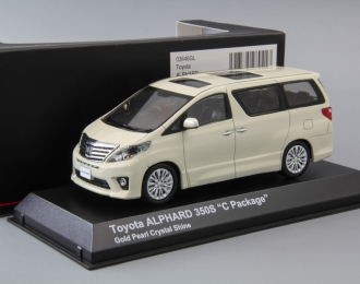TOYOTA Alphard 350S C Package, gold pearl crystal shine