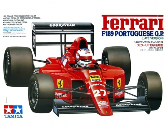 Сборная модель Formula 1 (Grand Prix Collection) Ferrari F189 Potuguese