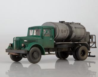 Автогудронатор Д-164А (МАЗ-200, со следами эксплуатации), темно-зеленый / серый