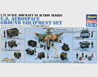 Сборная модель Технический персонал U.S. AEROSPACE GROUND EQUIPMENT SET