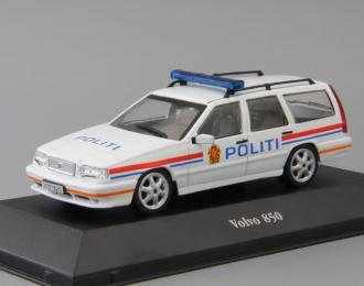 VOLVO 850 Politi, white