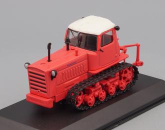 """ДТ-75 """"Казахстан"""" (перекрас), Тракторы 138, ярко-красный / белый"""