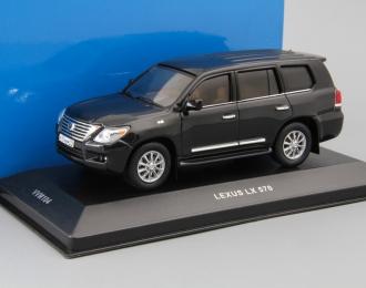 LEXUS LX570 (2009), black
