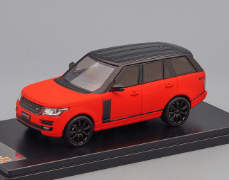RANGE ROVER VOGUE (2014), matt red / black