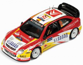 CITROEN XSARA WRC 15 D.Sordo-M.Marti Rally RACC Catalunya 2006, red
