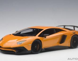 Lamborghini Aventador LP750-4 SV 2015 (orange met)