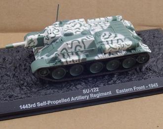 СУ-122, 1443rd Self-Propelled Artillery Regiment, Eastern Front 1945