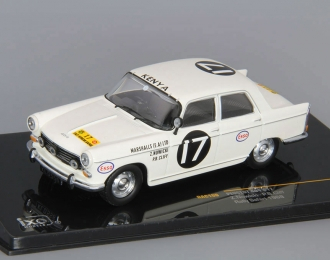 PEUGEOT 404 #17 N.Nowicky - P.Cliff Winner Rally Safari (1968), beige