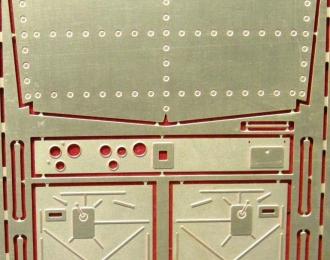 Фототравление Интерьер кабины КрАЗ (старая кабина) для SSM/АИСТ/AVD