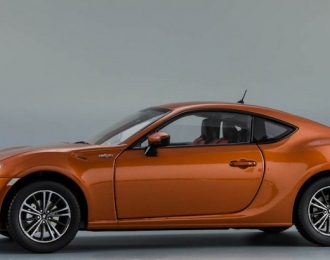 TOYOTA GT86 2012, orange metallic