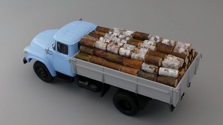 Груз в кузов Дрова для ЗИЛ-130