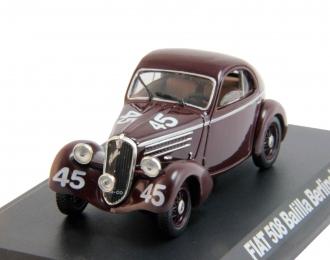 FIAT 508 Balillia Berlinetta #45 (1936), brown