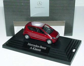 Mercedes-Benz A-Klasse 5 d (W169) 2004 красный