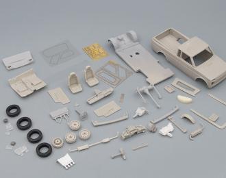Сборная модель ВАЗ-232900-01 пикап