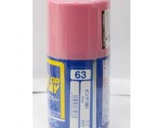 Аэрозольная краска (100 мл) PINK (в баллоне)