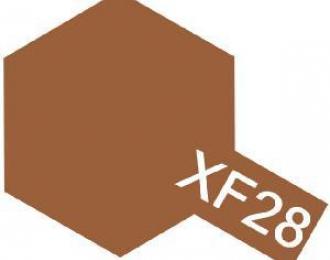 XF-28 Dark Copper (краска акриловая, темно-медный матовый), 10мл.