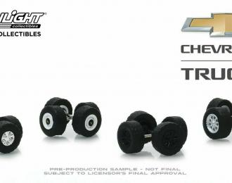 "набор ""Wheel & Tire Packs Series 2"" 4 комплекта колес CHEVROLET Trucks"