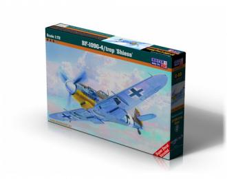"""Сборная модель Самолет BF-109G-4/trop """"Shiess"""""""