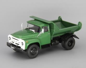 ЗИЛ-ММЗ-555 самосвал, Грузовики СССР 9, зеленый
