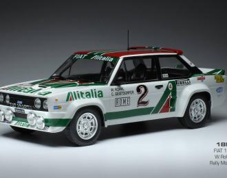 "FIAT 131 Abarth #2 ""Alitalia"" W.Rohrl/C.Geistdoerfer Rally Monte Carlo 1978"