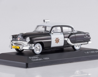 "PONTIAC Chieftain ""California Highway Patrol"" (1954), black / white"