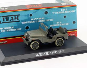 "JEEP CJ-5 4х4 1972 (из телесериала 'Команда А"")"