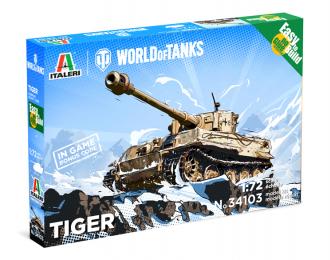 Сборная модель Танк TIGER - WoT