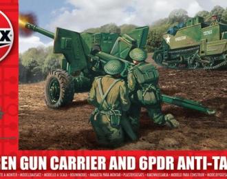 Сборная модель Bren Gun Carrier and 6pdr Anti-Tank Gun