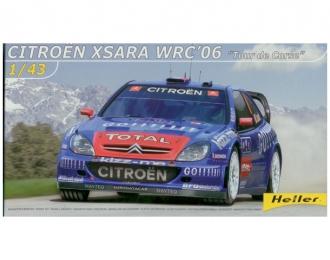 """Сборная модель CITROEN Xsara WRC 2006 """"Tour de Corse"""""""