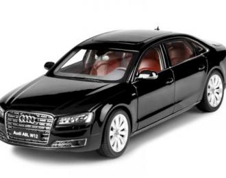 Audi A8L W12 (phantom black)