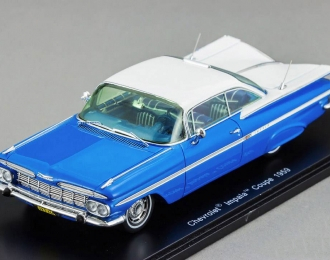 CHEVROLET Impala Coupe (1959), blue / white